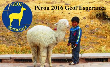 Visuel du projet Pérou 2016 Géol'Esperanza