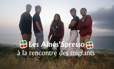 Visuel du projet L'équipe l'Ainé'Spresso à la rencontre des migrants!