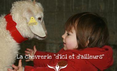 """Project visual La Chèvrerie """"d'ici et d'ailleurs..."""""""