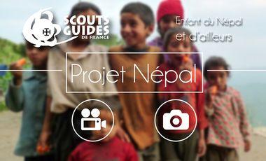 Project visual Projet Solidaire avec Les enfants du Népal