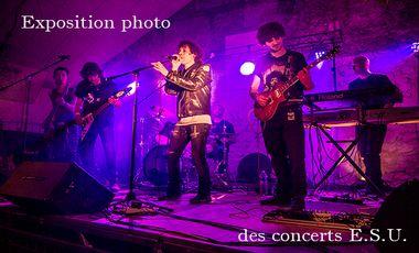 Project visual Exposition photo des concerts ESU