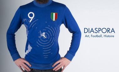 Project visual Diaspora Italiana (Art, Football, Histoire)