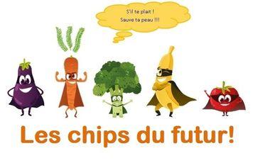 Project visual Les chips du futur