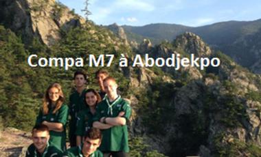Project visual Compagnons M7 à Abojekpo