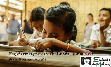 Project visual Les compagnons d'Agen en Thaïlande