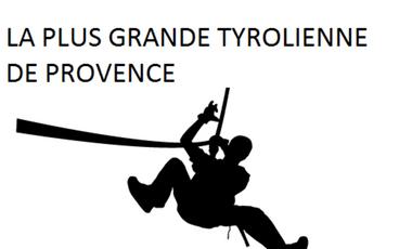 Project visual La plus grande Tyrolienne de Provence