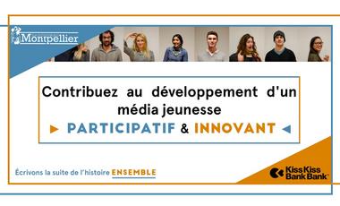 Project visual Le Nouveau Montpellier, le média participatif de la jeunesse