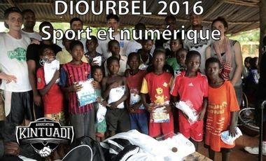 Visueel van project DIOURBEL 2016 - Sport et numérique