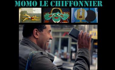 Visuel du projet Momo le chiffonnier, websérie du réel à Ménilmontant