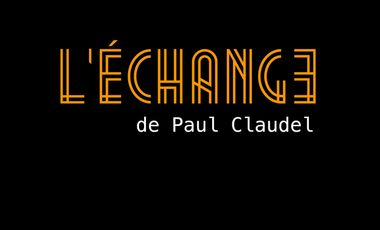 """Project visual """"L'Échange"""""""