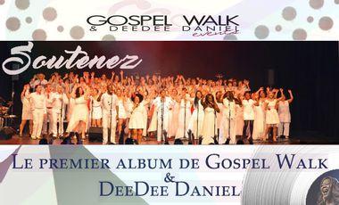 Project visual Participez à l' Album de Gospel Walk