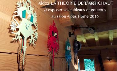 Visuel du projet Aidez La Théorie de l'Artichaut à exposer au salon Alpes Home 2016 !