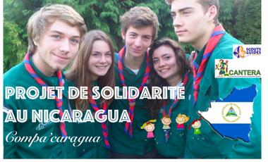 Project visual Compa'caragua - Projet de Solidarité au Nicaragua