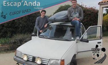 Project visual Europ'Raid 2016 (équipage Escap'anda)