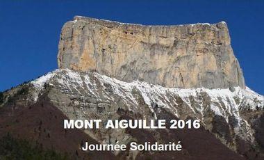 Visuel du projet MONT AIGUILLE Journée solidarité 14 & 15 Mai 2016