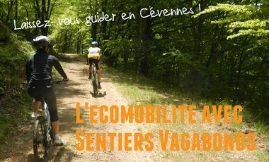 Visueel van project L'écomobilité avec Sentiers Vagabonds