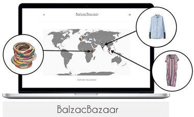 Visuel du projet BalzacBazaar