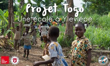 Visuel du projet Togo: Une école pour les enfants de Yiéviepé