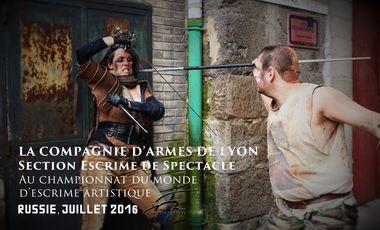 Visuel du projet La Compagnie d'Armes de Lyon en Russie !