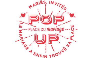 Project visual Le pop-up store de Place du Mariage