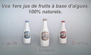 Visuel du projet Ino | Votre nouvelle gamme de jus de fruits à base d'algues.
