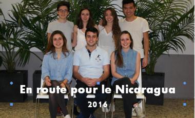 Visueel van project En route pour le Nicaragua 2016