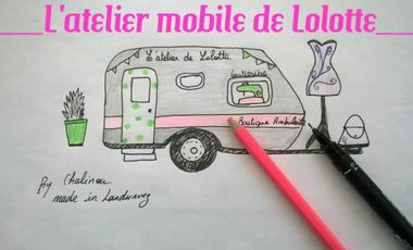 Project visual L'atelier mobile de Lolotte.