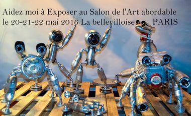 Project visual Aidez moi à exposer au Grand Salon de l'Art abordable