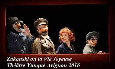 Project visual Zakouski ou la Vie joyeuse