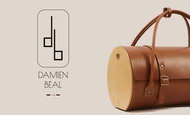 Visuel du projet Les sacs en bois et cuir Damien Béal