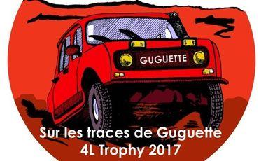 Project visual Association Paris 4L Tour - 4L Trophy 2017