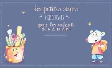 Visuel du projet Les petites souris - Ecole de devoirs