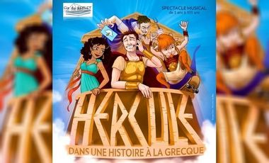 Project visual HERCULE LE MUSICAL