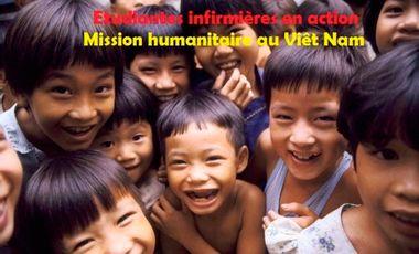 Visuel du projet Mission humanitaire au Viêt Nam