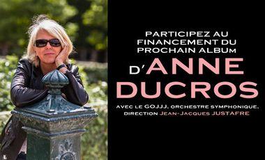 Project visual NOUVEL ALBUM D'ANNE DUCROS avec le GOJJJ
