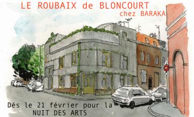 Project visual Exposition «LE ROUBAIX de BLONCOURT»
