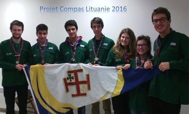 Project visual Projet solidaire SGDF Compagnons - Lituanie 2016
