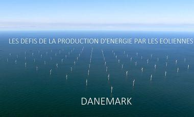 Project visual Caroline et les éoliennes au Danemark