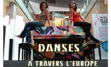 Visuel du projet Danses à travers l'Europe