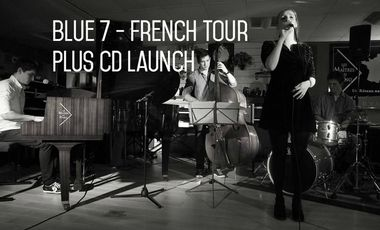 Project visual BLUE 7 - French Tour Plus CD Launch
