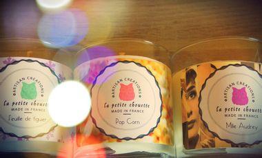 Project visual Bougies La Petite Chouette 100% naturelles fabriquées dans les Pyrénées !