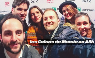 Project visual LES COLOCS DE MAMIE au 48H
