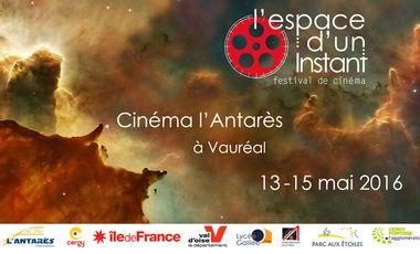 Project visual L'espace d'un instant, festival de cinéma