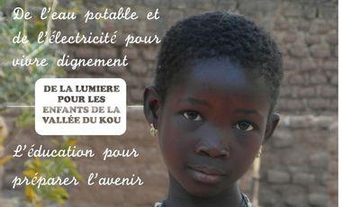 Project visual De la lumière pour les enfants de la vallée du Kou