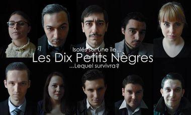 Project visual LES DIX PETITS NÈGRES - Agatha Christie