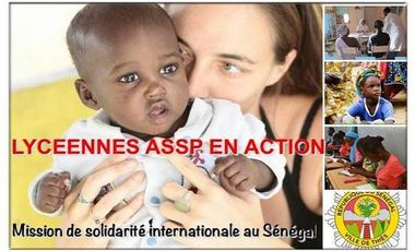 Visueel van project Lycéennes en mission de solidarité internationale au Sénégal