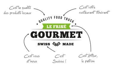 Project visual Le Frisé Gourmet: food-truck Valaisan