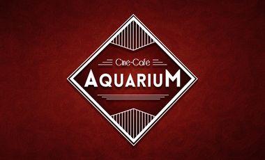 Project visual Aquarium ciné-café