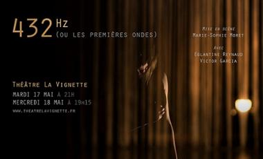 Visuel du projet 432 Hz (ou les premières ondes)