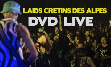 Visuel du projet Laids Crétins des Alpes partent en LIVE !